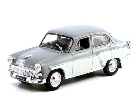 Moskvich-407 gray-white 1:43 DeAgostini Auto Legends USSR Best #4
