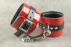 Эротические наручники «Комфортные» с карабином