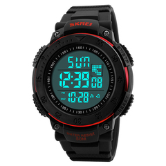 Часы SKMEI 1237 - Черный + красный