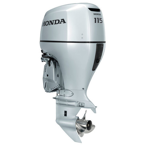 Honda 115 лодочный мотор