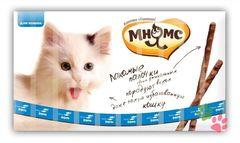 Мнямс лакомство для кошек палочки со вкусом лосося и форели 10*5гр