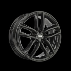 Диск колесный BBS SX 7.5x17 5x120 ET43 CB72.5 crystal black
