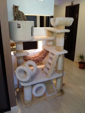 Домик для кошки Д-104