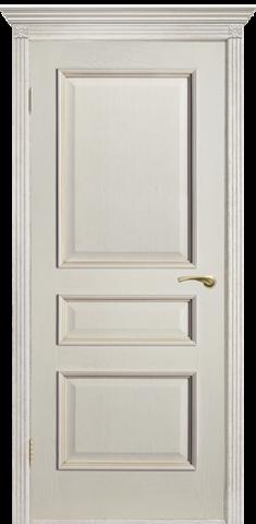 Дверь Двери Белоруссии Вена ПГ, цвет слоновая кость, глухая