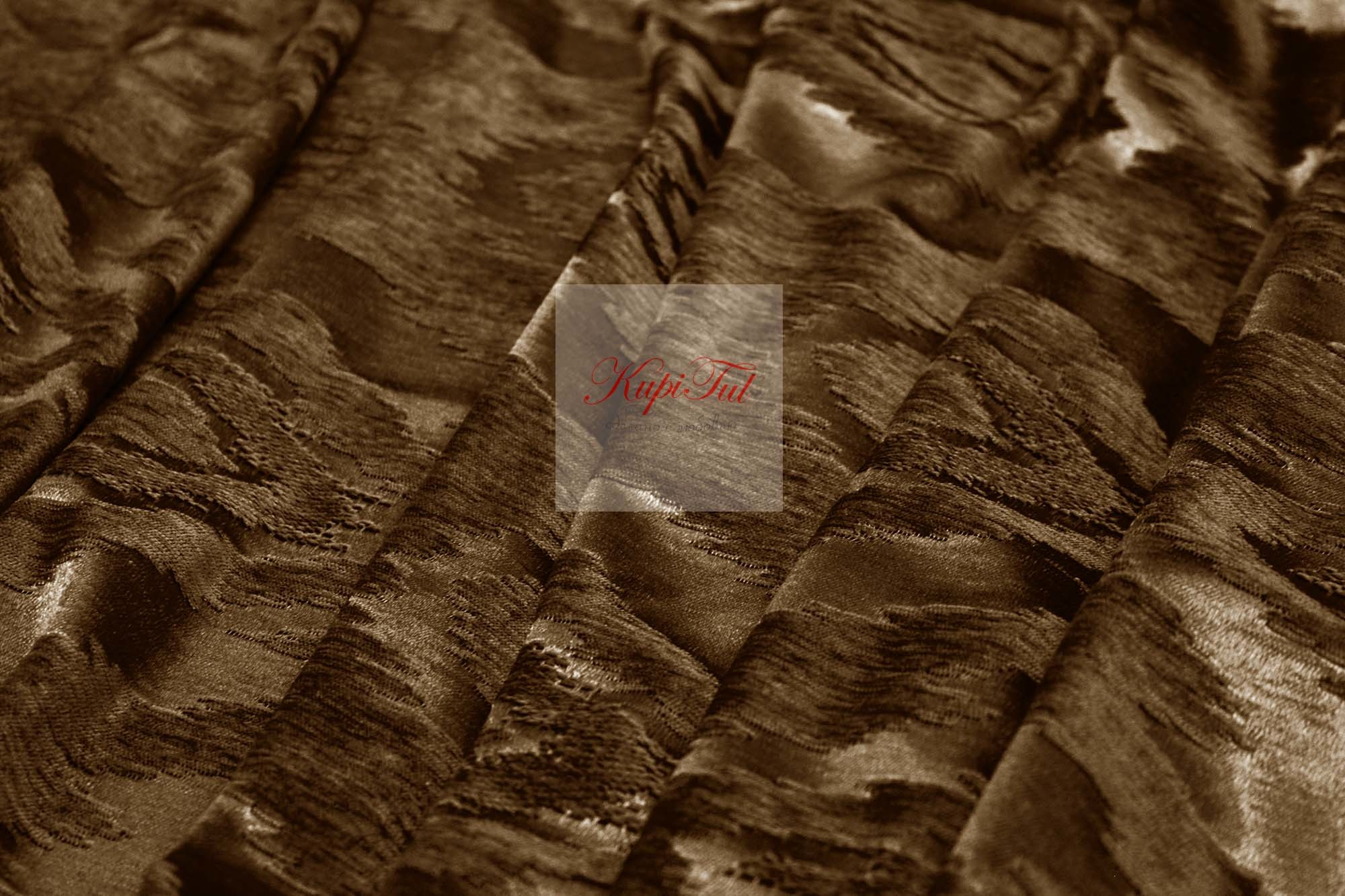 Бархатные шторы Ramada (шоколад)
