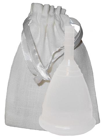 Менструальная чаша CupLee L, Прозрачная