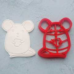 Мышка №7 форма для пряника