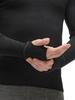 Комплект термобелья с шерстью Norveg Hunter Black мужской рука