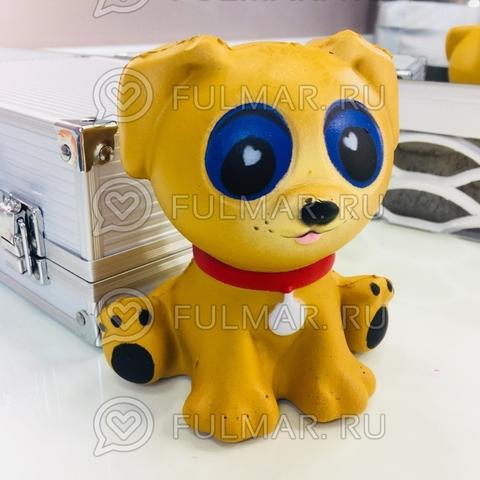 Пёс Карамелька сквиши игрушка антистресс
