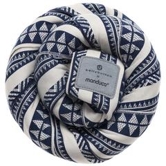 Трикотажный слинг-шарф bellybutton by manduca Sling BohoBlue