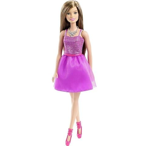 Барби Блестящий Стиль в Фиолетовом Платье