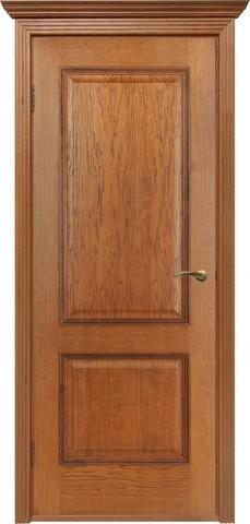 Дверь Двери Белоруссии Гранд ПГ, цвет орех-коньяк, глухая