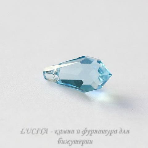 6000 Подвеска Сваровски Drop Aquamarine (11х5,5 мм)