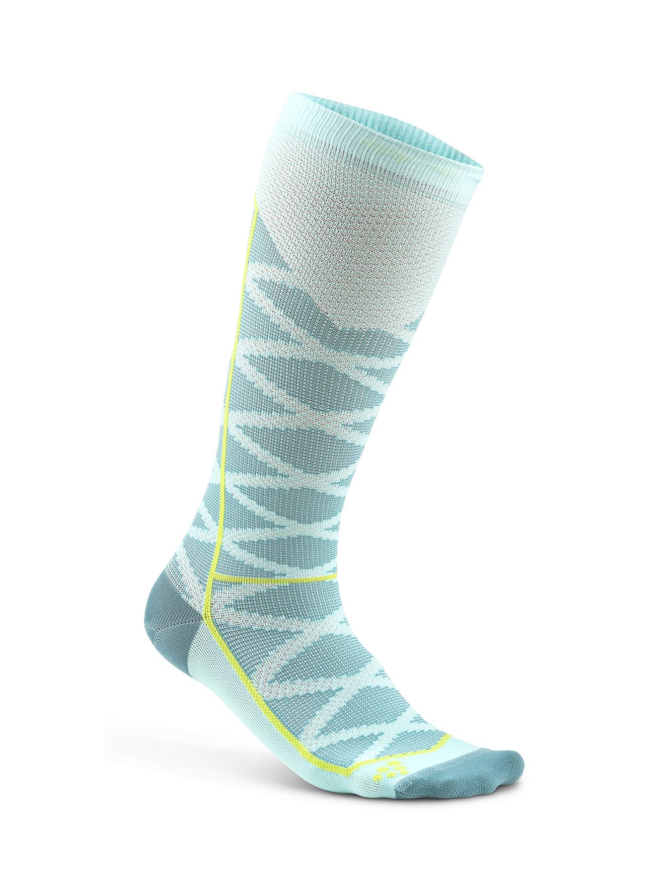 d2c0474731393 Компрессионные носки Craft Compression Pattern 1906063-619610 купить в  интернет-магазине Five-sport с доставкой по России и Москве