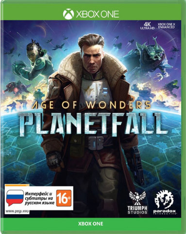 Xbox One Age of Wonders: Planetfall (русские субтитры)