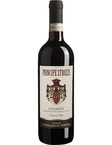 Вино Кьянти Принчипе Строцци красн.сух. з.н.м.п. рег.Тоскана  0,75 л 13%  Италия