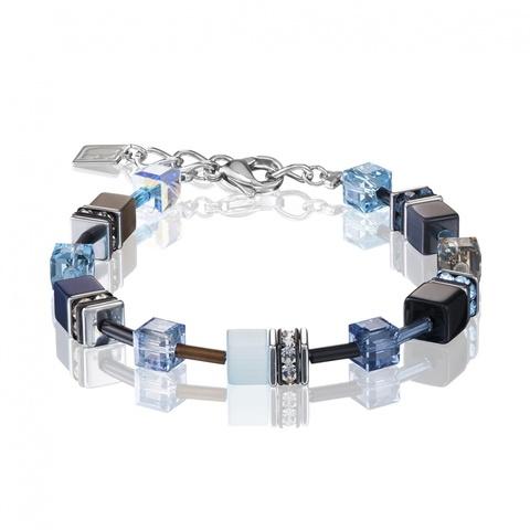 Браслет Coeur de Lion 2838/30-0737 цвет синий, голубой, чёрный