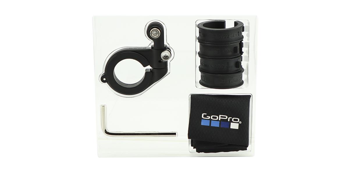 Крепление на руль/седло/раму велосипеда GoPro Pro Handlebar/Seatpost/Pole Mount (AMHSM-001) в упаковке