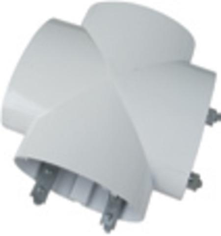 BS-X-M*R Соединение Х к светильникам BS, белый