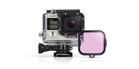 Пурпурный фильтр для дайв-бокса Magenta Dive Filter (ADVFM-301) с камерой