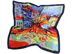 L304 платок женский, цветной