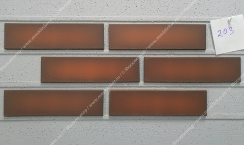 Фасадная плитка King Klinker, Tibetan flame (20), Dream House, 65x250x10, RF