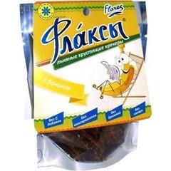 Флаксы с бананом, 90 гр. (Компас Здоровья)