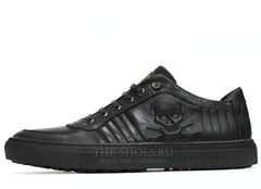 Кеды Мужские Philipp Plein Low-Top Skull Stamp