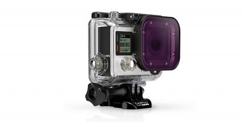 Пурпурный фильтр для дайв-бокса Magenta Dive Filter (ADVFM-301) на линзе камеры