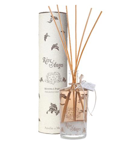 Диффузор-ароматизатор для дома с палочками в подарочной упаковке Мечта ангелов, Amelie et Melanie