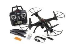 Радиоуправляемый вертолет (квадрокоптер) Syma X5SC с камерой и автостабилизацией полета