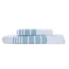 Полотенце 100х180 Hamam Marine Towel бирюзовое