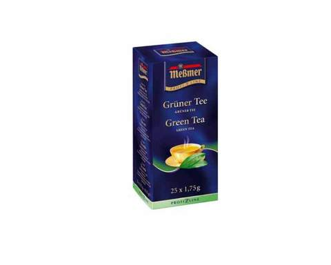 Чай зеленый в пакетиках Messmer, 25 пак/уп, 1,75 г
