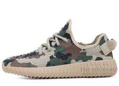 Кроссовки Женские Adidas Originals Yeezy 350 Boost Camo