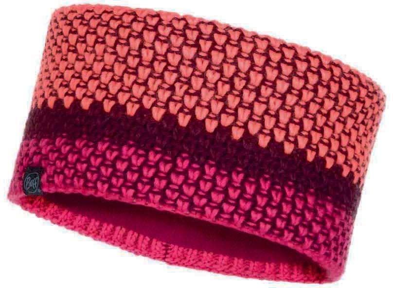 Повязка вязаная Buff Headband Knitted Tilda Bright Pink