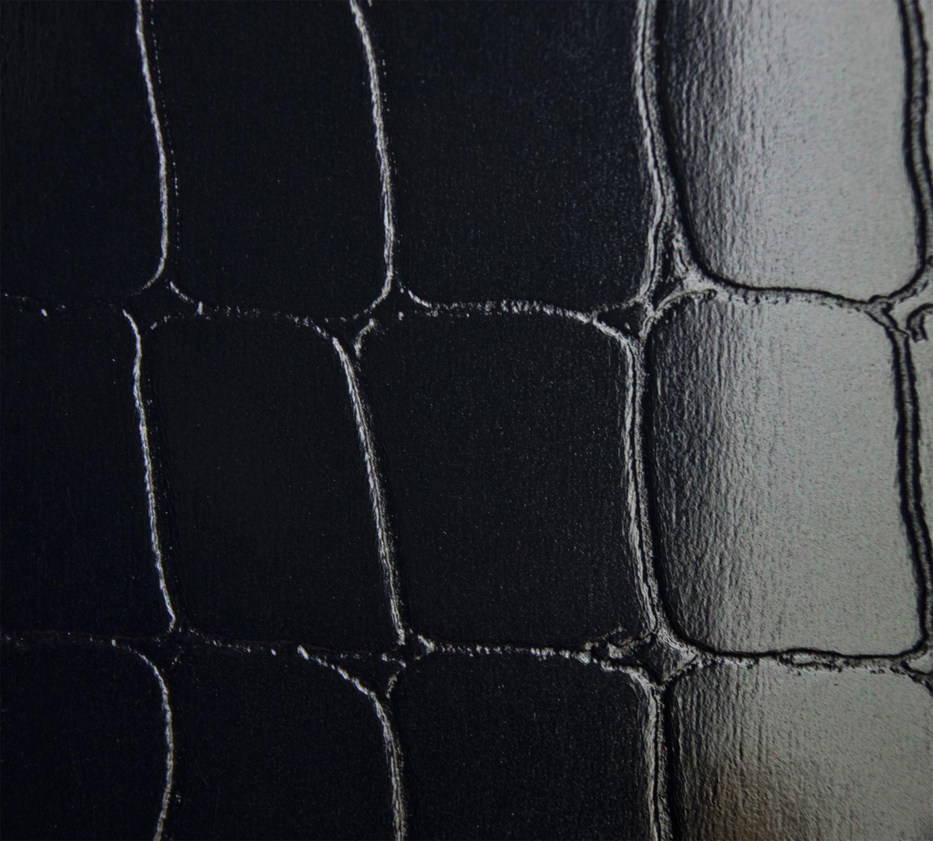 Кардсток Splendorlux c тиснением, черный