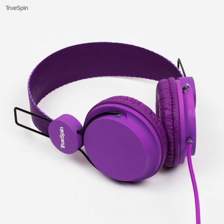 Наушники TRUESPIN BASIC HEADPHONE PURPLE