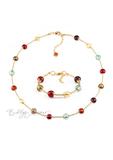 Комплект Carnavale Oro Piccolo (ожерелье, браслет)