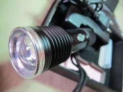 Батарея просит огня! Ручной  мощный универсальный фонарь под маркировкой Огонь H-445! 200 000w