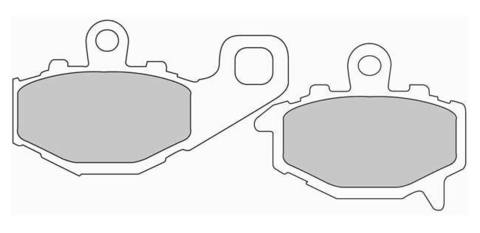 Тормозные колодки Ferodo FDB2012P