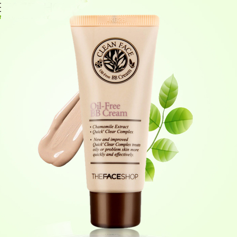 THE FACE SHOP Clean Face Oil Control BB Cream, 35 ml