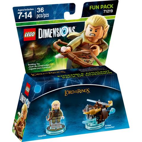 LEGO Dimensions: Fun Pack: Леголас 71219 — Legolas — Лего Измерения
