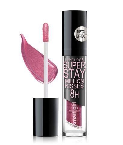 Супер стойкий блеск для губ Smart girl Million kisses тон 216