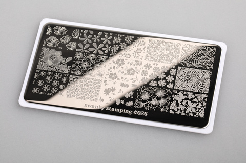 Пластина Swanky Stamping 026