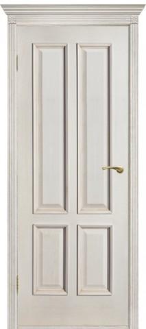 Дверь Двери Белоруссии Прага ПГ, цвет слоновая кость, глухая
