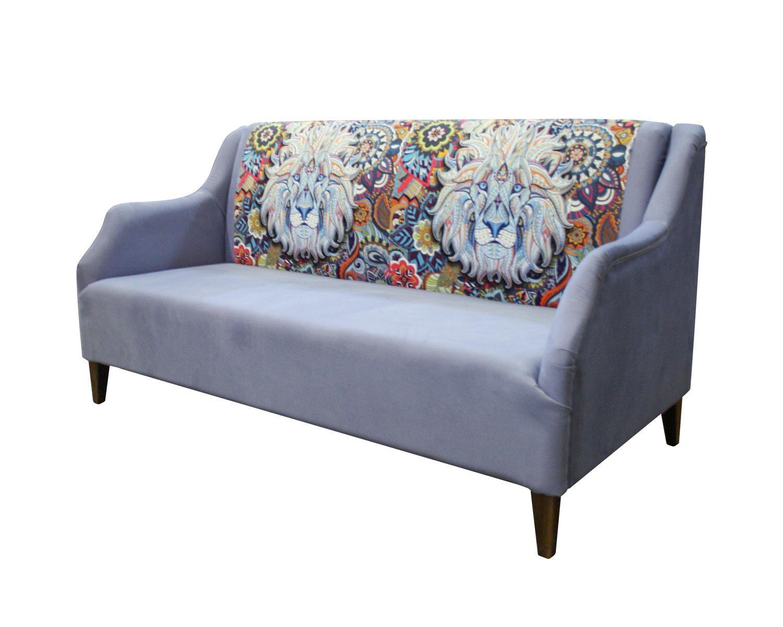 диван 3-местный Клерк-Люкс с термопечатью