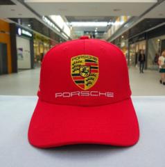 Кепка Порше красная (Бейсболка Porsche)