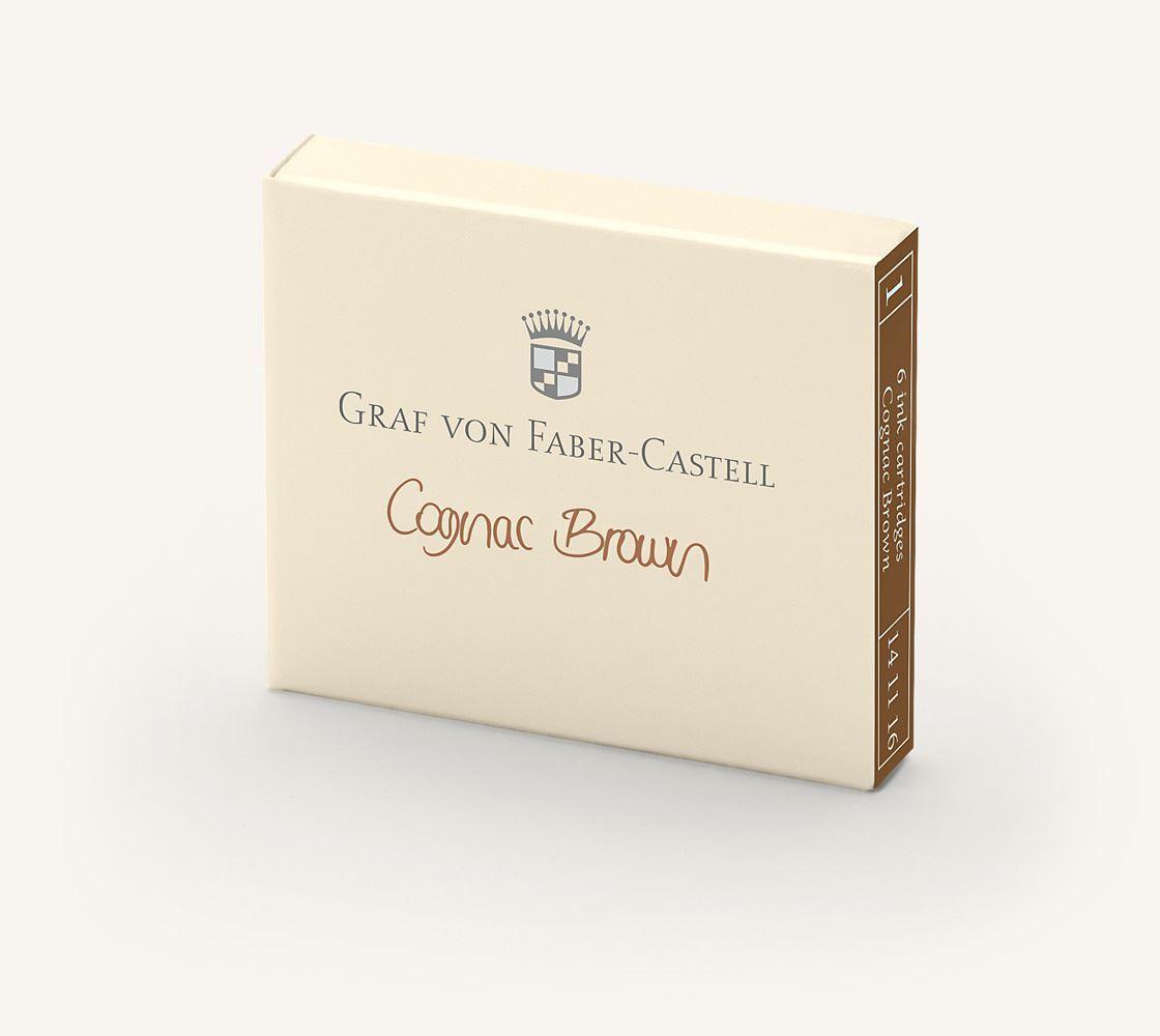 Graf von Faber-Castell Cognac Brown 75 ml (141016)