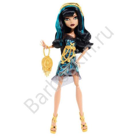 Кукла Monster High Клео де Нил (Cleo De Nile) - Страх! Камера! Мотор!