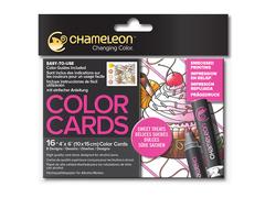 Раскраска-склейка Chameleon Sweet Treats/ Сладкие лакомства